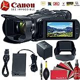 Canon Vixia HF G50 UHD 4K Camcorder (Black) Starter Bundle (Color: Black, Tamaño: Starter Kit)