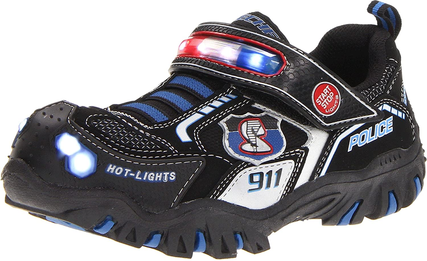 skechers police light up shoes check price. Black Bedroom Furniture Sets. Home Design Ideas