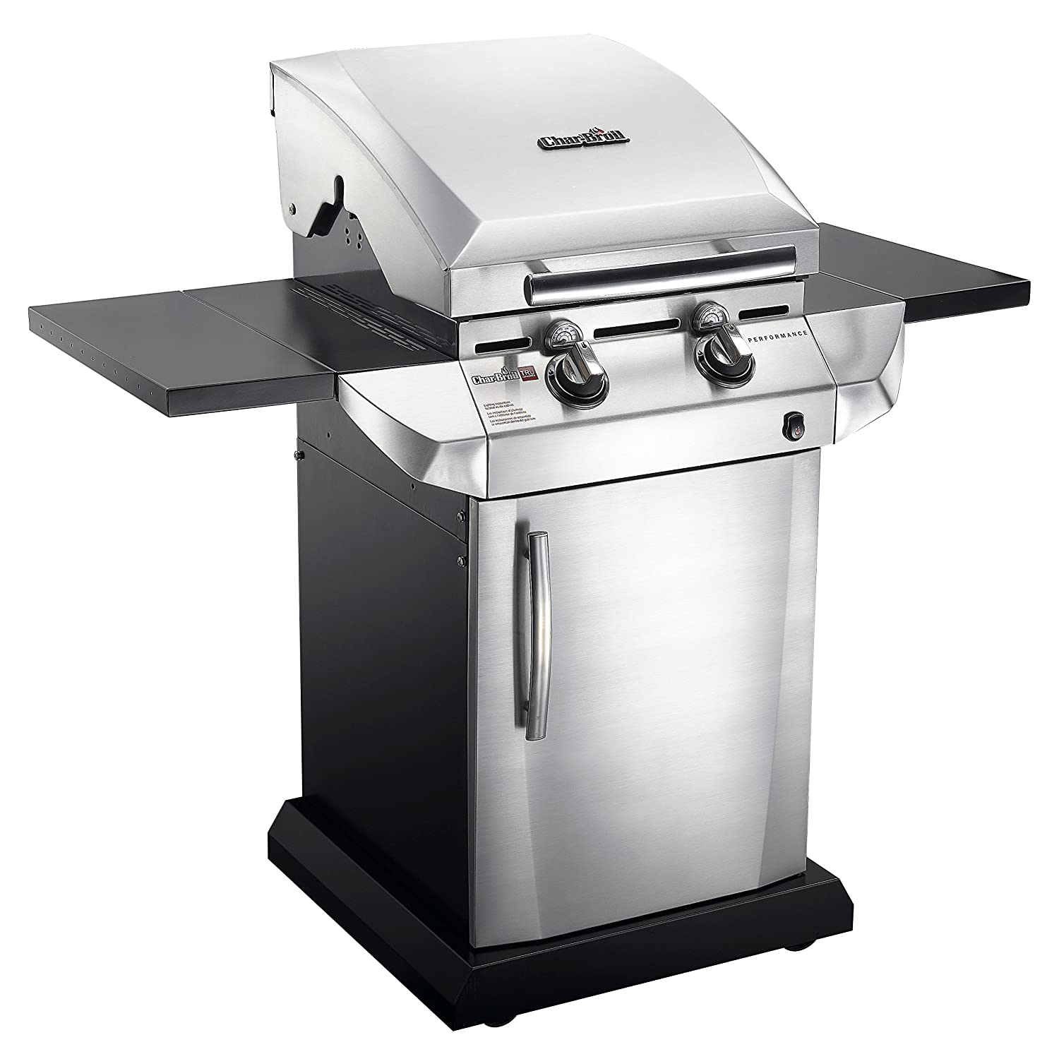 char broil performance tru infrared 340 2 burner gas grill ebay. Black Bedroom Furniture Sets. Home Design Ideas