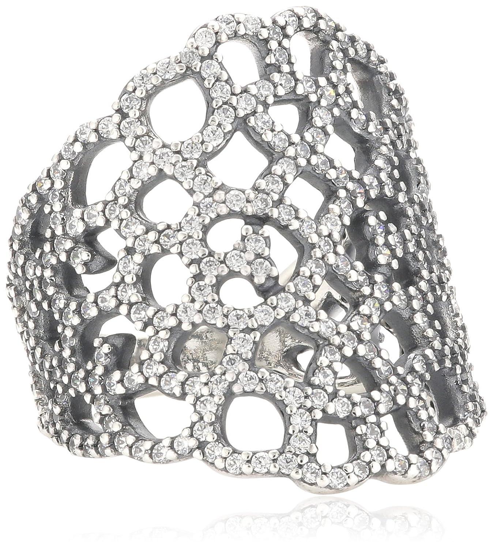 Pandora Damen-Ring 925 Sterling Silber Zirkonia weiß 190907CZ online bestellen