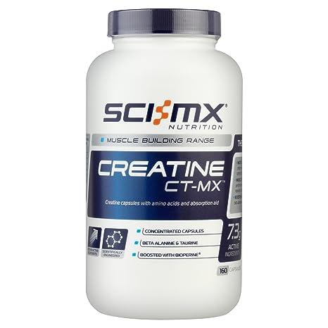 Sci-mx Ernährung 10% Kreatin ct-MX 160 Kapseln