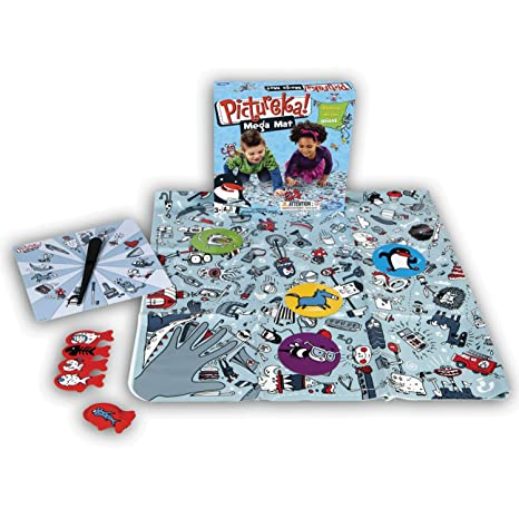 Hasbro - A08871010 - Jeu de Société - Pictureka Mega Mat