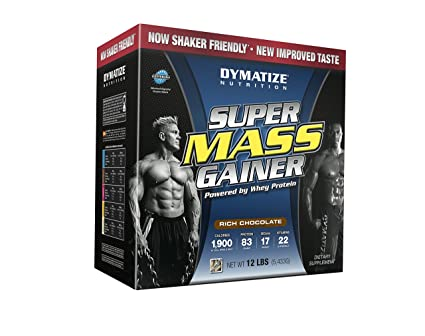 Dymatize Super Mass Gainer 5443g Rich Chocolate