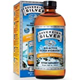 Sovereign Silver Bio-Active Silver Hydrosol for Immune Support - 10 ppm, 32oz (946mL) - Family Size (FFP)