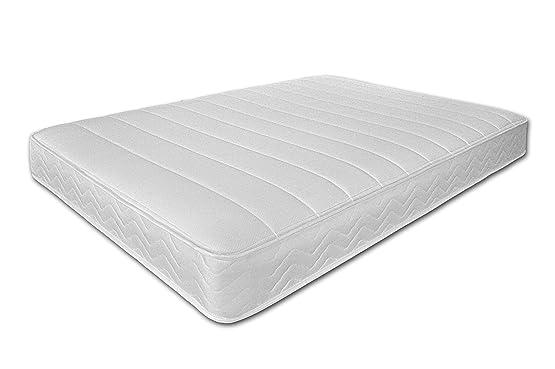 Revivo di materasso a molle, doppio, colore: bianco