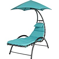 Best Choice Products Arc Curved Hammock Dream Chaise Lounge Chair (Multiple Colors)