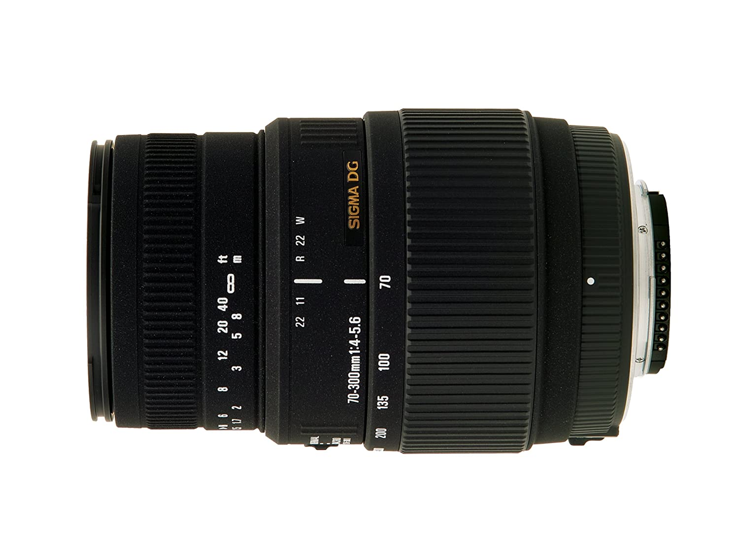 Sigma 70-300mm f/4-5.6 SLD DG Macro Lens with built in motor for Nikon Digital SLR Cameras