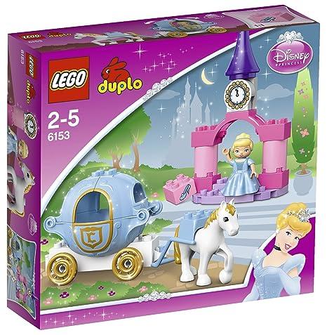 LEGO DUPLO Princesse - 6153 - Jouet d'Eveil - Le Carrosse de Cendrillon