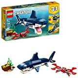 LEGO Creator 3in1 Deep Sea Creatures 31088 Building Kit (230 Piece) (Color: Multi)