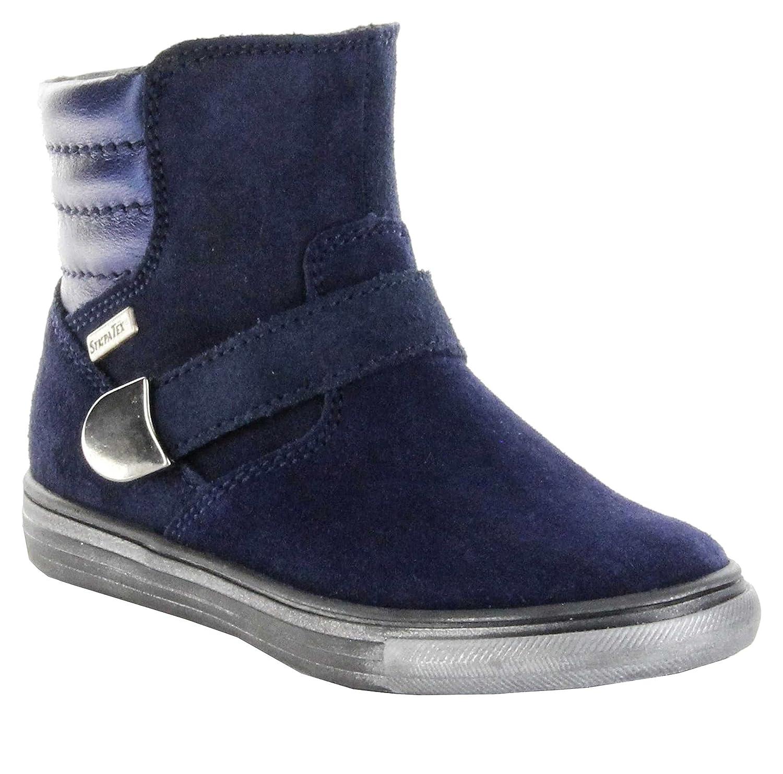 Richter Kinder Winter Stiefeletten blau Velour Warm TEX Mädchen 3145-621-7200 online bestellen
