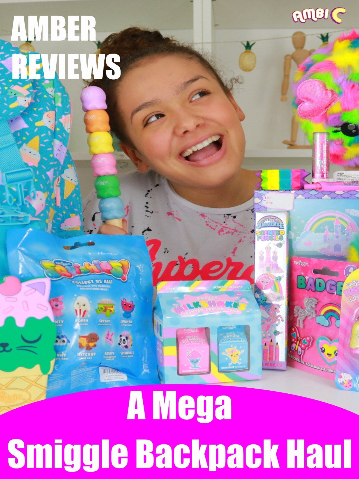 Amber Reviews a Mega Smiggle Backpack Haul