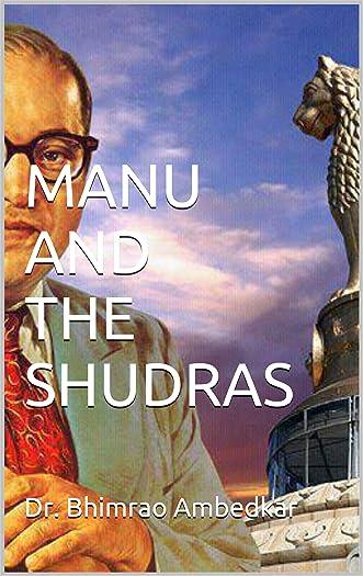 MANU AND THE SHUDRAS written by Dr. Bhimrao Ambedkar
