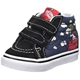 Vans Toddlers Sk8-Mid Reissue V (Peanuts) Flying Aces/Dress Blues VN0A348JOHK Toddler 5 (Color: (Peanuts) Flying Aces/Dress Blues, Tamaño: 5 M US Toddler)