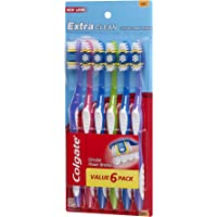 6-Pack Colgate Extra Clean Full Head Toothbrush (Soft)