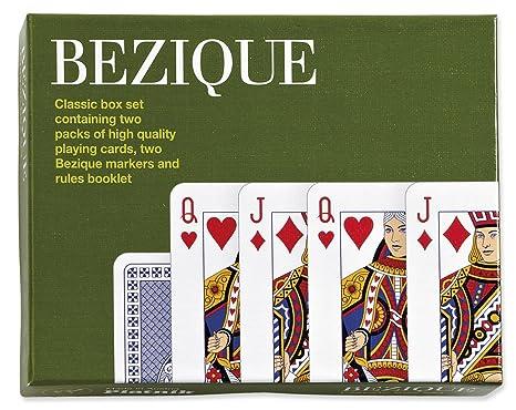 Piatnik Lot de 2 jeux de cartes de bésigue