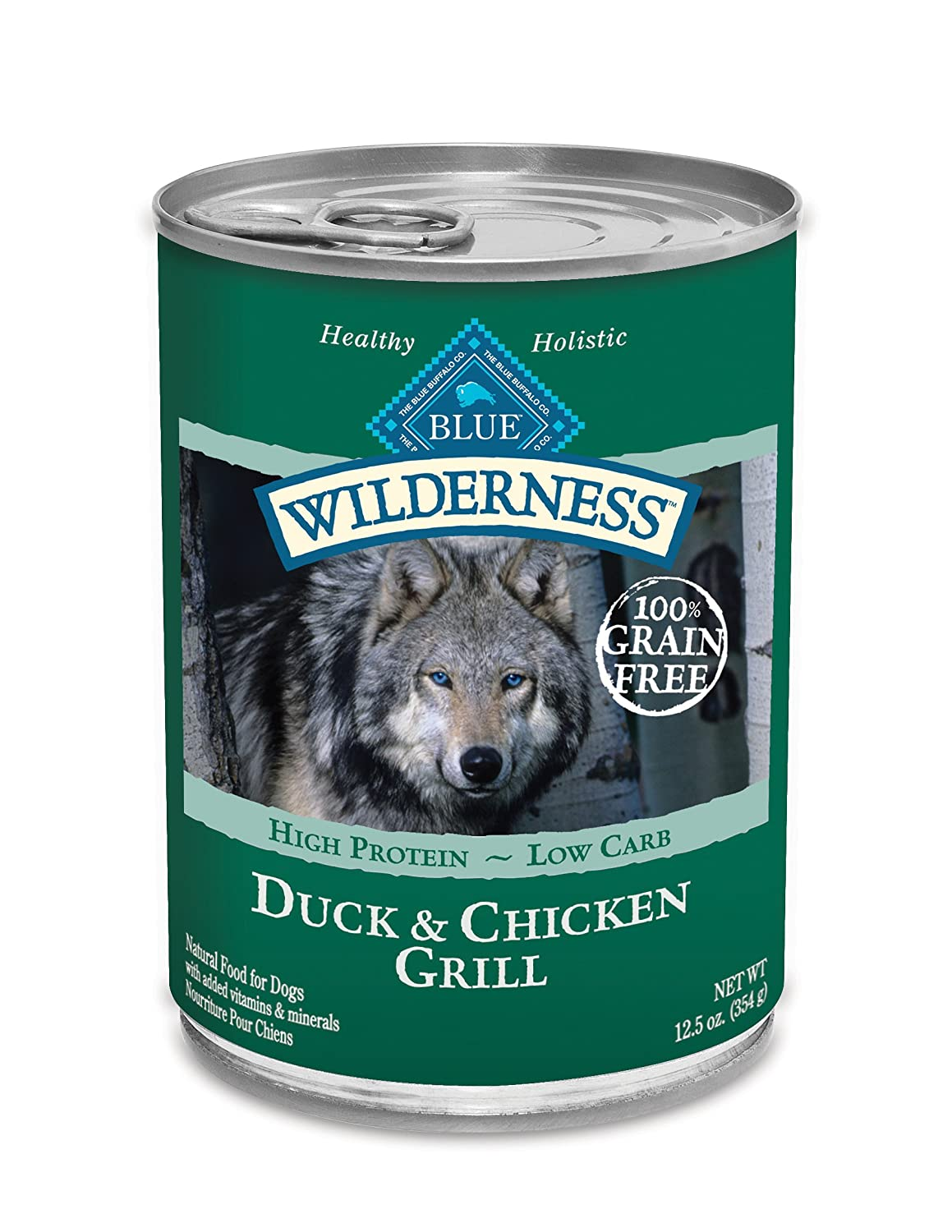 Blue Wilderness Grain Free Canned Dog Food