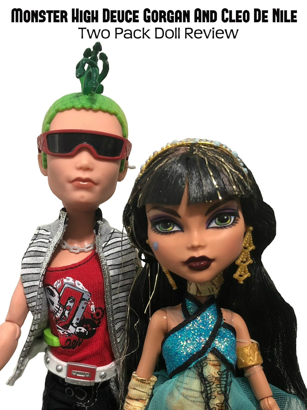 Review: Monster High Deuce Gorgan And Cleo De Nile Two Pack Doll Review