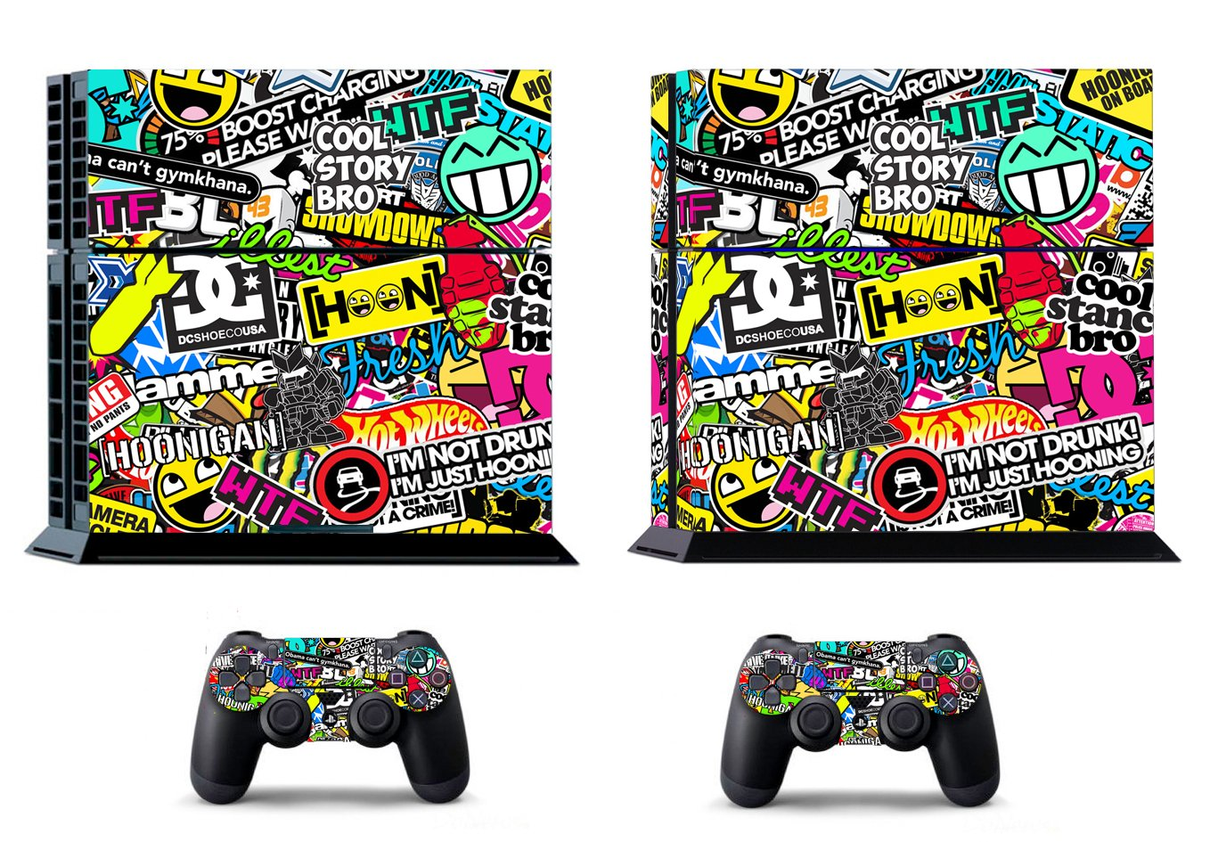 Stickers Ps4