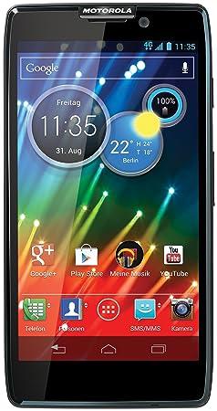 Motorola RAZR HD Smartphone débloqué 4G (Ecran: 4.7 pouces - Android 4.0 Ice Cream Sandwhich) Noir