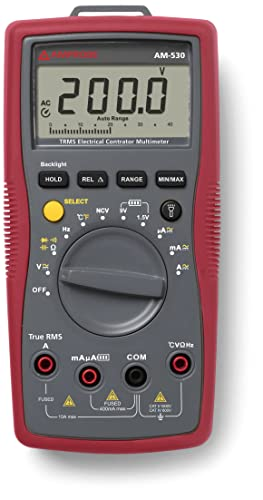 Amprobe AM-530 TRMS Electrical Multimeter Review