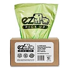 EZ Pickup Bags Green