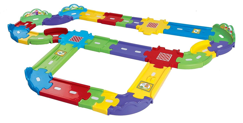 VTech 80-148104 – Tut Tut Baby Flitzer – Straßen Erweiterungsset, groß günstig