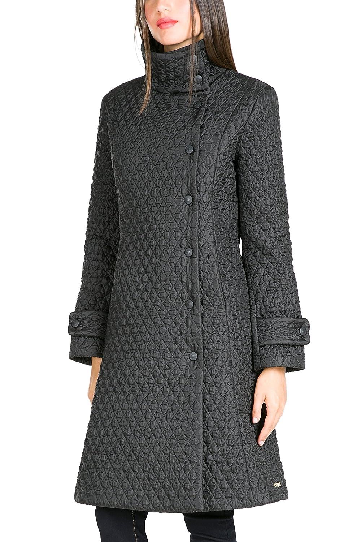 Desigual Abrig Alethea Damen Mantel Winterjacke Wintermantel schwarz Padded Overcoat Steppmantel Noir
