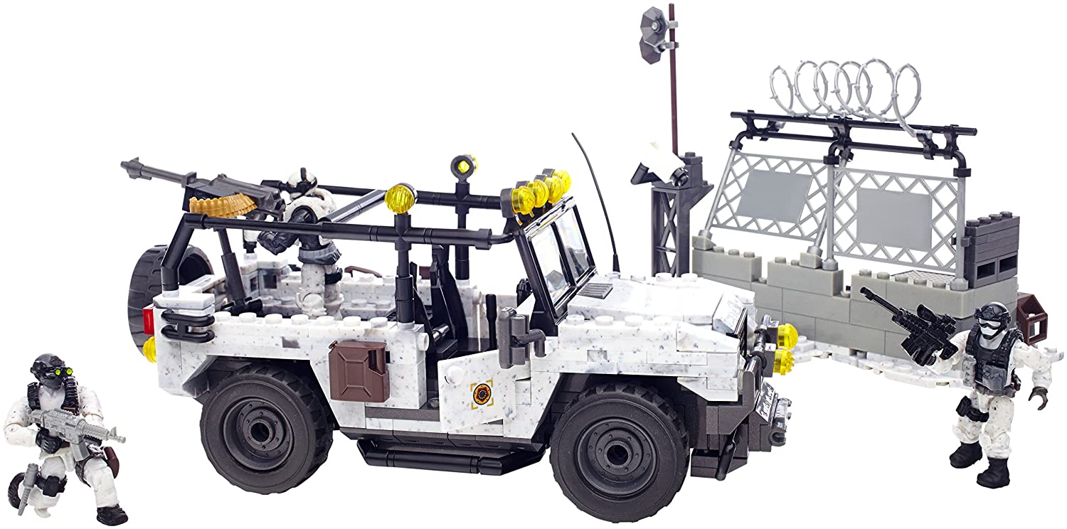 Mega Bloks Call of Duty Arctic Invasion [491 pcs – 06879] online kaufen