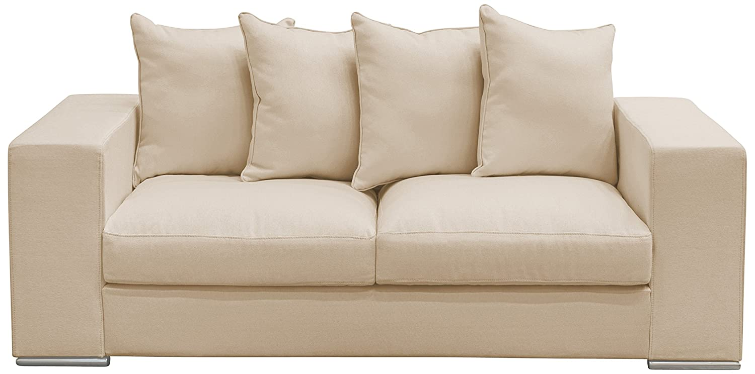 AMARIS Elements SO002.3 Sofa 2-Sitzer 200 x 106 x 65/45 cm, creme