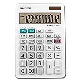 Sharp EL-334WB Business Calculator, White 4.0 (Color: White)