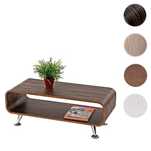 Tavolino Lounge Club salotto Perugia 90x39x33cm ~ marrone scuro