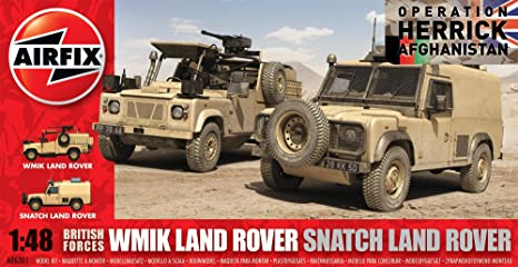 Airfix - A06301 - Maquette - British Forces Land Rover Twin