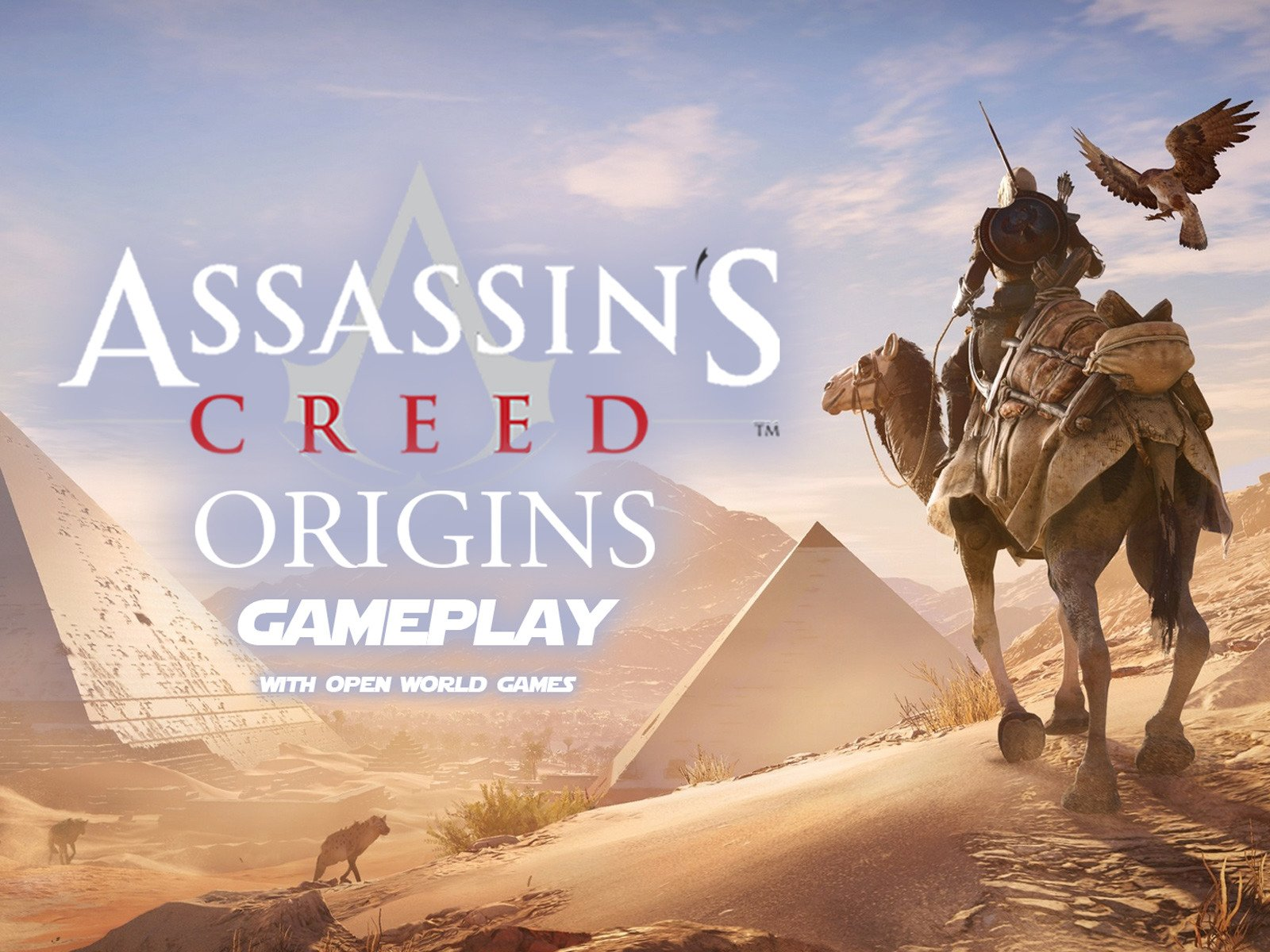 Assassin's Creed Origins Gameplay with Open World Games - Season 1