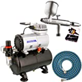 DeVILBISS DAGR AIRBRUSH-Tank Compressor-Paint Spray Gun