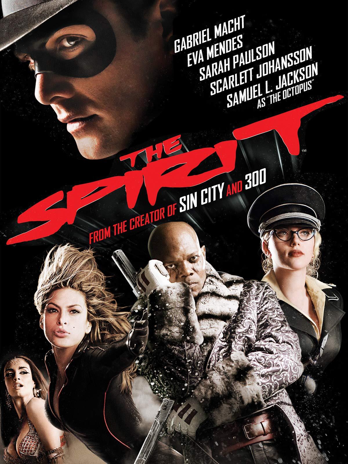 The Spirit on Amazon Prime Video UK