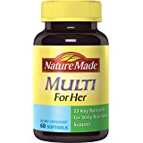 Nature Made Multi for Her Softgels - 23 Essential Vitamins & Minerals 60 Ct