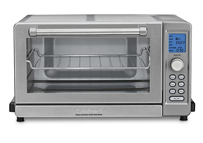 Cuisinart TOB-135 Deluxe Convection Toaster Oven Broiler, Brushed Stainless Via Amazon