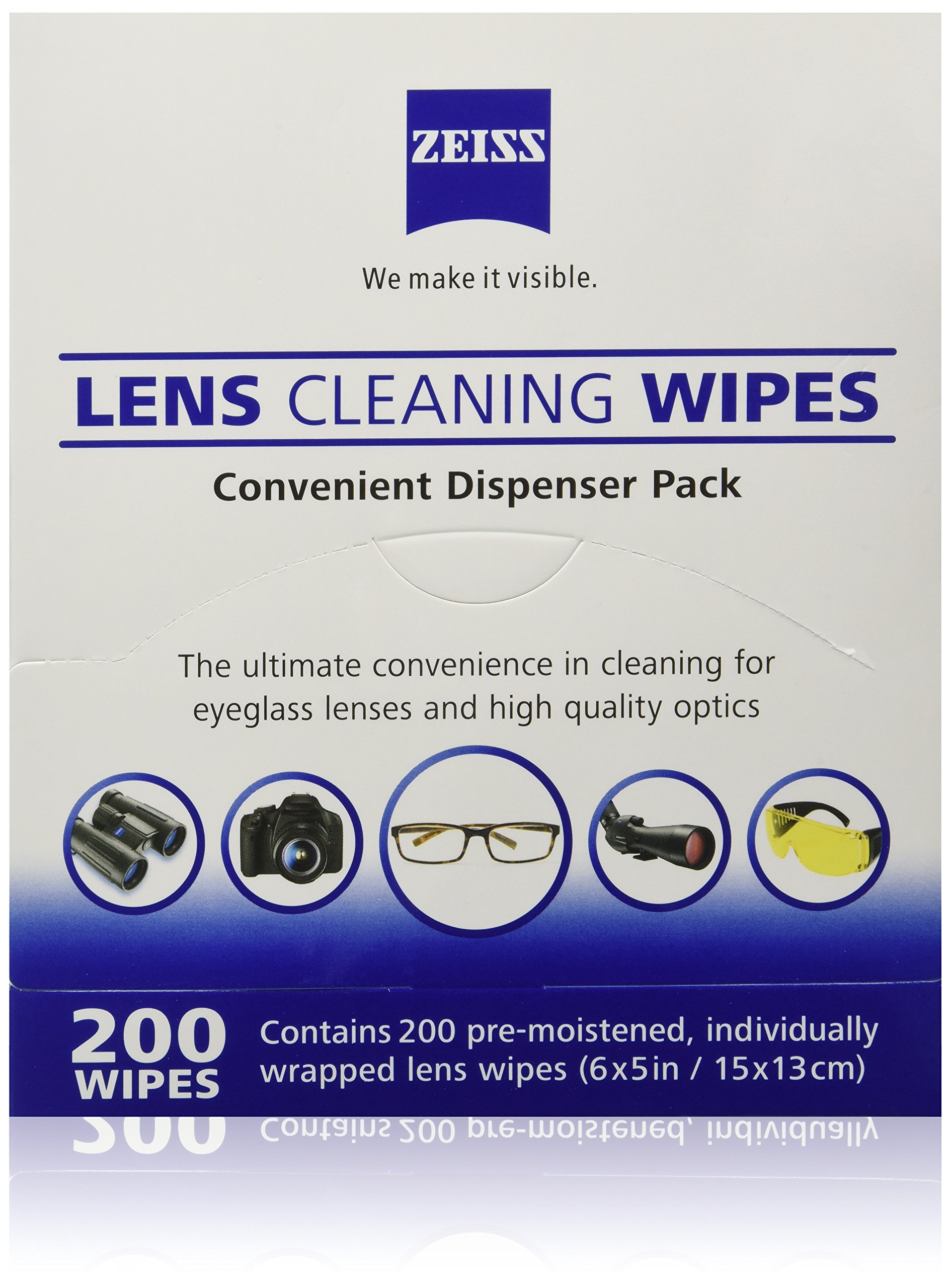 8618823cb9 Zeiss Pre-moistened Lens Cleaning Wipes
