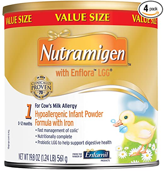 Nutramigen with Enflora LGG Baby Formula Review