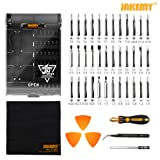 Jakemy 43 in 1 Screwdriver Set Precision Repair Tool Kit with 36 Magnetic Driver Bits Screwdriver Kit for iphone X/8/7 Plus Cell Phone Macbook Laptop PC Orange (Color: 8153)