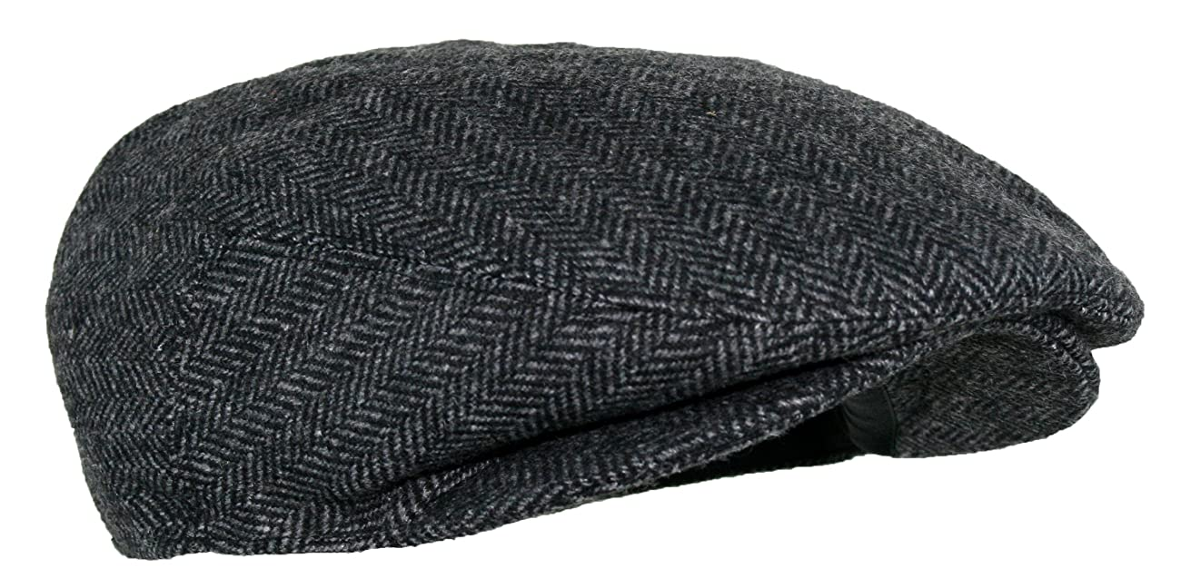Men's Premium Wool Blend Classic Flat Ivy Newsboy Collection Hat 2