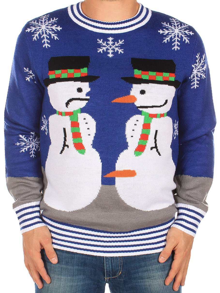 Snowman Nose Thief Sweater