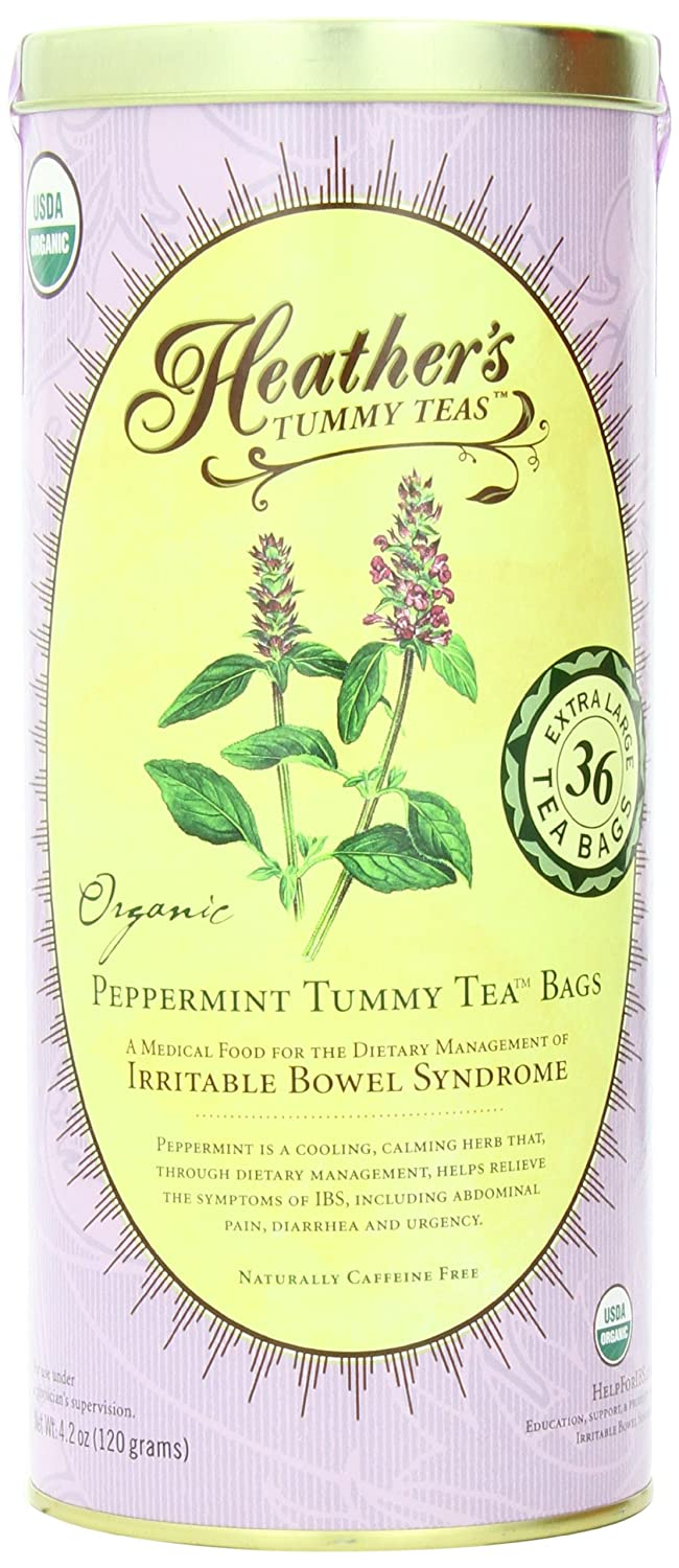 stomach soothing peppermint tea