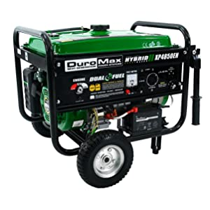 Duromax XP4850EH Dual Fuel 3850W Portable Generator Review