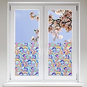 Artefact® Dekofolie / Fensterfolie Flair | statisch haftend (ohne Kleber) | verschiedene Größen  BaumarktÜberprüfung und weitere Informationen