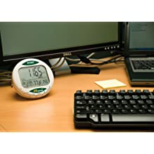 Extech CO200 Desktop Indoor Air Quality CO2 Monitor for Carbon Dioxide, Air Temperature, and Humidity