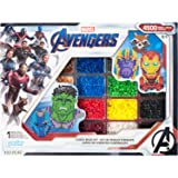 Perler PER8054346 Marvel Avengers Fuse Bead Kit, 4503pc, 10 Patterns, Multicolor (Color: Multicolor)