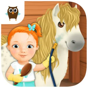 Sweet Baby Girl Cleanup 3 - Clean the Mess in the Kitchen, Bathroom, Treehouse and Swimming Pool, Play Car Wash and Take Care of the Little Pony from TutoTOONS