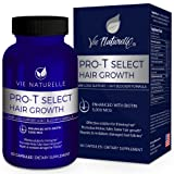Hair Growth Vitamins with Biotin 5000mcg - DHT Blocker & Saw Palmetto Hair Loss Supplements for Women and Men - Hair Skin and Nails Vitamins - 60 Vegetarian Pills Capsules (Tamaño: One Bottle)