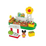 Fisher-Price Little People Growing Garden and Farm Stand Playset